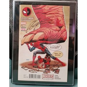 Spiderman Deadpool #1 signed by Rob Liefeld